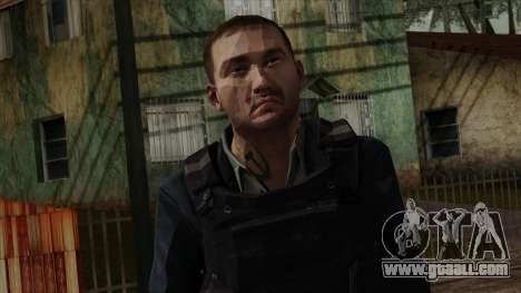 Modern Warfare 2 Skin 20 for GTA San Andreas third screenshot