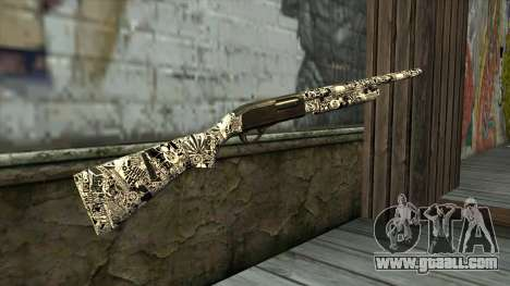 New Shotgun for GTA San Andreas second screenshot