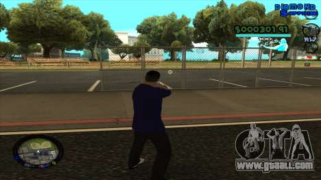 C-HUD Lopez for GTA San Andreas third screenshot