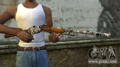 New Rifle for GTA San Andreas third screenshot