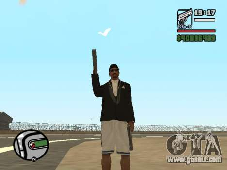 Dual ownership of all weapons for GTA San Andreas third screenshot