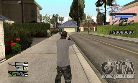 C-HUD Shark for GTA San Andreas