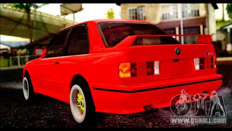 BMW M3 E30 Stock for GTA San Andreas left view