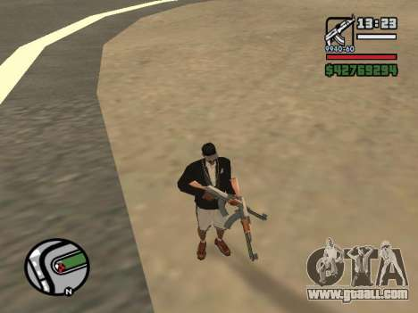 Dual ownership of all weapons for GTA San Andreas second screenshot