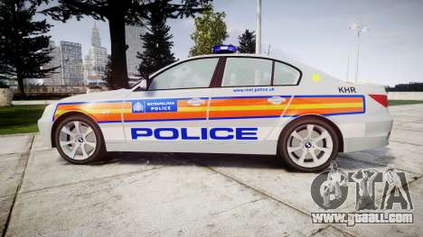 BMW 525d E60 2010 Police [ELS] for GTA 4 left view