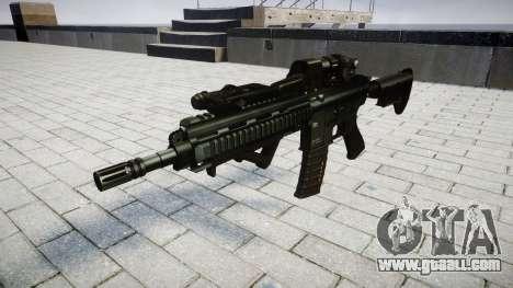 Rifle HK416 CQB target for GTA 4