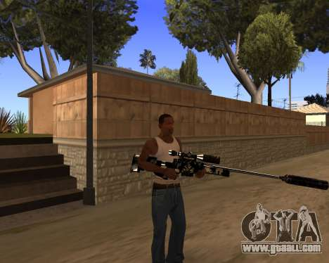 Hitman Weapon Pack v1 for GTA San Andreas forth screenshot