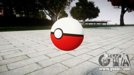 Pomegranate Pokeball for GTA 4 second screenshot