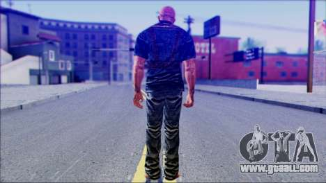 Outlast Skin 3 for GTA San Andreas second screenshot