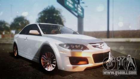 Mazda 6 MPS for GTA San Andreas