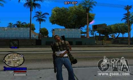 C-HUD Normal for GTA San Andreas sixth screenshot