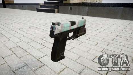 Gun HK USP 45 warsaw for GTA 4 second screenshot