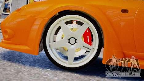 Toyota Supra VeilSide Fortune 03 v1.0 for GTA 4 back left view