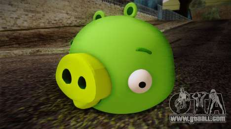 Pig from Angry Birds for GTA San Andreas
