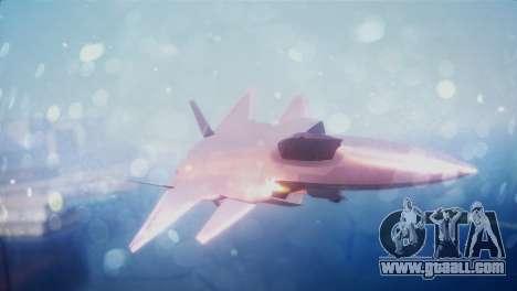 Chenyang J-20 Air Force BF4 for GTA San Andreas