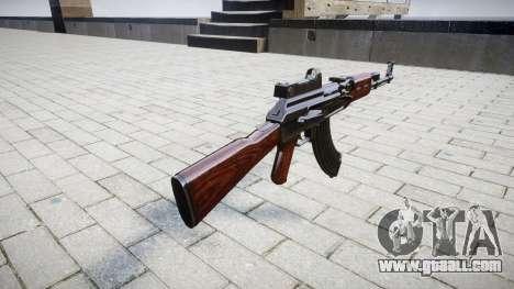 The AK-47 Collimator for GTA 4 second screenshot