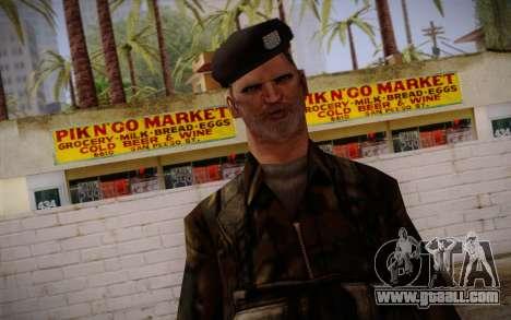 Soldier Skin 2 for GTA San Andreas third screenshot