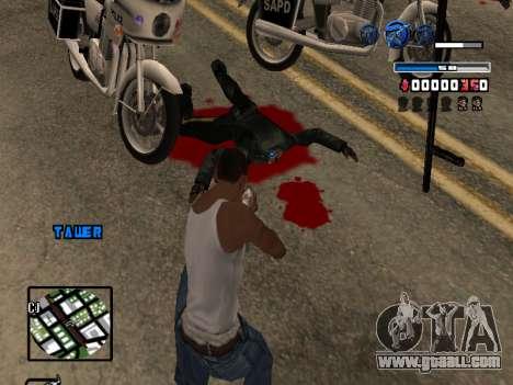 C-HUD Fantastik for GTA San Andreas forth screenshot