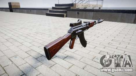 The AK-47 Collimator and Muzzle brake for GTA 4 second screenshot