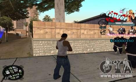C-HUD Tawer GTA 5 for GTA San Andreas third screenshot