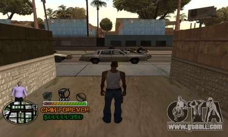 C-HUD СМИ FOREVER for GTA San Andreas second screenshot