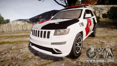 Jeep Grand Cherokee SRT8 Forca Tatica [ELS] for GTA 4