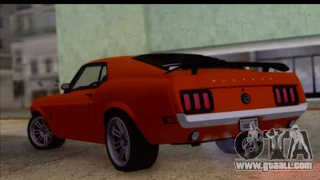 Ford Mustang Boss 429 1970 for GTA San Andreas left view