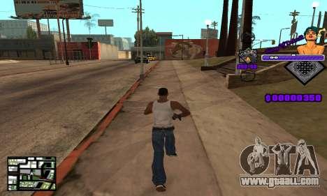 C-HUD King Of Detroit for GTA San Andreas third screenshot