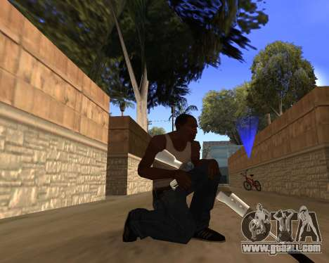 Clear weapon pack for GTA San Andreas forth screenshot