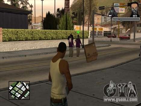 Marusya C-HUD for GTA San Andreas second screenshot