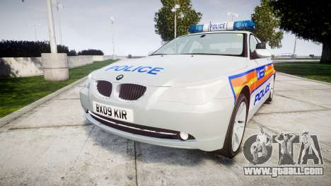 BMW 525d E60 2009 Police [ELS] for GTA 4