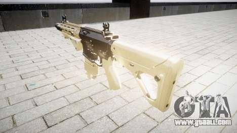 Rifle AR-15 CQB for GTA 4 second screenshot