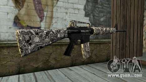 New Assault Rifle for GTA San Andreas second screenshot