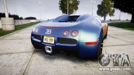 Bugatti Veyron 16.4 v2.0 for GTA 4 back left view