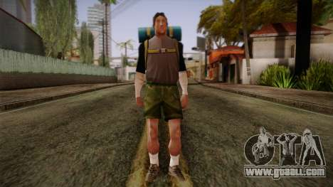 GTA San Andreas Beta Skin 18 for GTA San Andreas