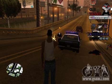 C-HUD Cesar Weezy for GTA San Andreas fifth screenshot