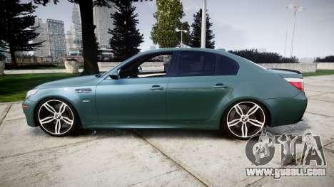 BMW M5 E60 v2.0 Stock rims for GTA 4 left view