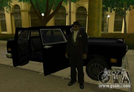Cabbie Restyle for GTA San Andreas right view