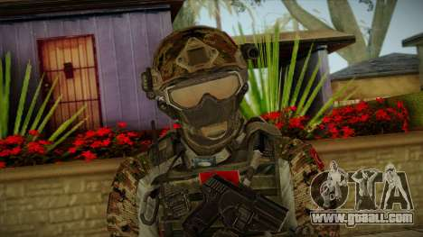 Army Skin 2 for GTA San Andreas third screenshot