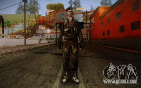 Soldier Skin 2 for GTA San Andreas