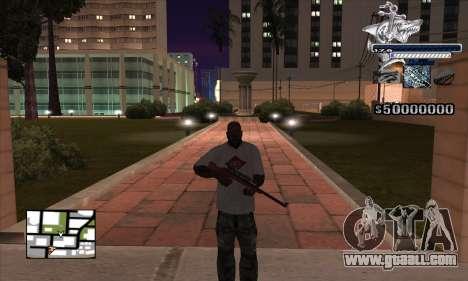 C-HUD Shark for GTA San Andreas second screenshot