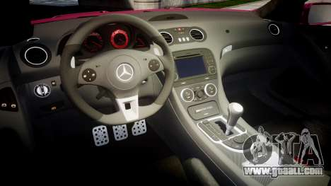 Mersedes-Benz SL65 AMG 2009 for GTA 4 inner view