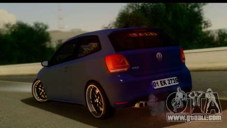 Volkswagen Polo GTI for GTA San Andreas left view