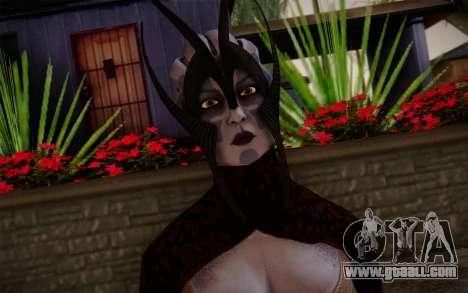 Benezia Beta Final from Mass Effect for GTA San Andreas third screenshot