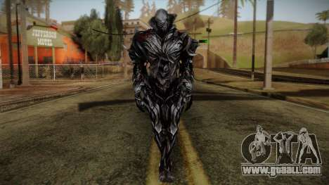 Alex Armored from Prototype 2 for GTA San Andreas