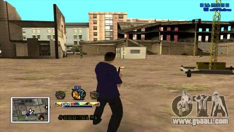 C-HUD Color for GTA San Andreas second screenshot