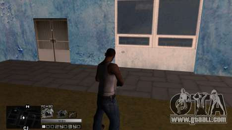 C-HUD Silver for GTA San Andreas second screenshot