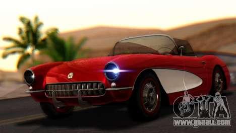 Chevrolet Corvette C1 1962 for GTA San Andreas