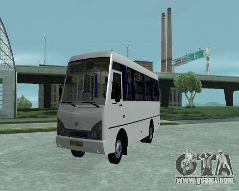 I-Van A07A for GTA San Andreas