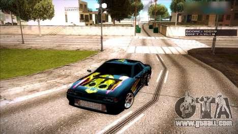 Vinyls for Elegy for GTA San Andreas second screenshot